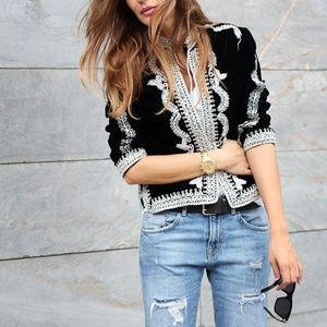 H&M Autumn Collection 2013 Velvet Bolero Jacket